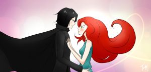 Severus and Lily by XxRainbowFlyxX