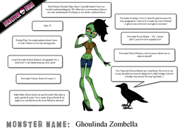 Monster High Creation - Ghoulinda Zombella by Fantasy-and-Fiction