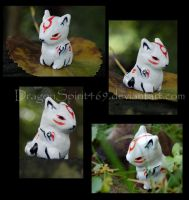 More Okami Sculpy Pix by DragonSpirit469