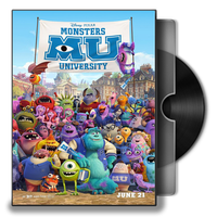 Monsters University Folder Icon by prestigee