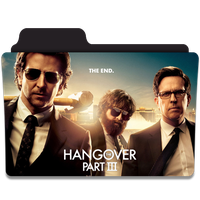 THE HANGOVER PART III Folder Icon by efest