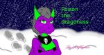 Poison the dragoness by SexyCynder