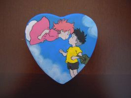 Ponyo heart box by MartyGallo