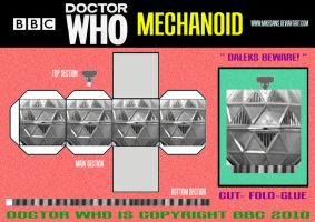Doctor Who -Mechanoid by mikedaws