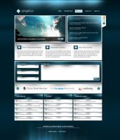 Simplicix Media Website V2 by zblowfish