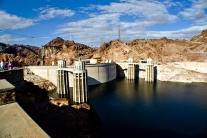 The Hoover Dam by Bartonbo