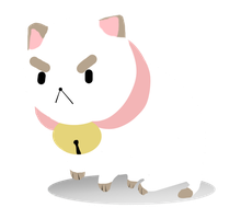 Simplistic Puppycat by Tie-Her-Down