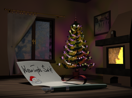 Late christmas card by T-Nuch