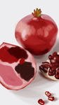Matte Painting Study #3- Pomegranate by ninjaisonfire