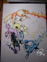 Pokemon - Eevee Evolutions