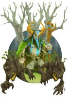Dota 2 Nature's Prophet by JimESC