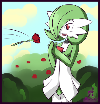 Here, a rose by OffBeatReBoot