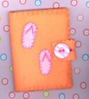 Flip Flop Card Holder by RyuuseiHime
