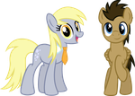 AGC Derpy and Dr. Whooves by Osipush