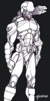 SciFi Trooper Armor 2007 by stourangeau