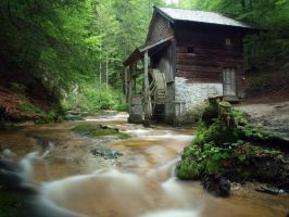 old mill by Burtn