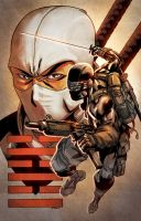 Snake-Eyes and Storm Shadow by RyanLord