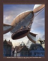 Osgood Finnegan's Airship by BWS