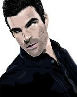 Sylar portrait by TheSpyWhoLuvedMe
