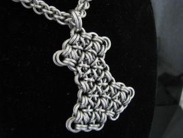 Chain Thor's Hammer by BorealisMetalWorks