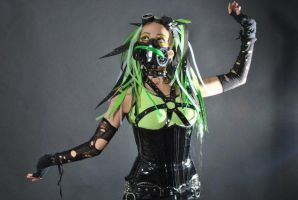 Cybergoth VI by Zria-Spektrum