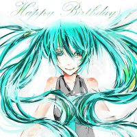 ..::Happy Birthday Hatsune Miku::.. by nagic-nilo