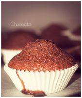 Chocolate muffin by Perbear42