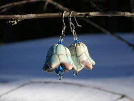 Bluebell earrings by Shailin