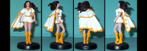 Mary Marvel custom figurine by Ciro1984