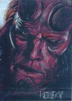 hellboy by feoh12