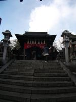 King of the mountain-Kyoto Temple shrine by chaobreeder16