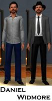 Daniel Widmore- Sims 3 by pudn