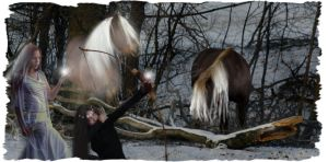 A Mid-winter's Hunt by Dellessanna