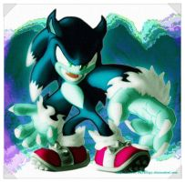 Sonic the Werehog by SubrosaEnigma