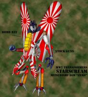 WW2 Transformers: Starscream by Bearded-Jarl