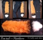 Matthew's tail by Samlex-tails