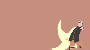 Naruto Uzumaki (The Last) - Minimalist Wallpaper by douglaaz