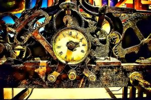 The Clock's Time Machine by RiegersArtistry