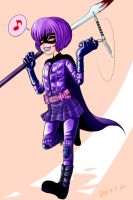 HIT GIRL2:KICK-ASS by Y0KO