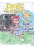Fiona sitting on Sonic by Fiona-fox-club