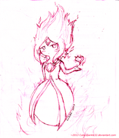 Flame Princess by CubizSparkle