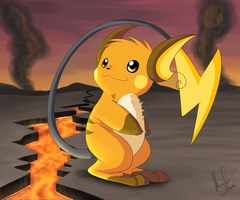 Raichu by Intellectual-Panda