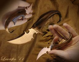 Copper hook - knife by Laurefin-Estelinion