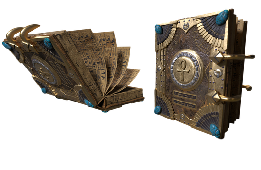 Injustice 2: Dr Fate's Magic Book - Transparent! by Camo-Flauge