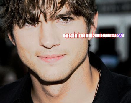 Ashton Kutcher. by xelectroshock