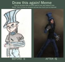 BeforeAndAfter - DrawThisAgain by papertraps