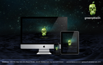 greenpois0n wallpaper and icon by GianlucaDivisi