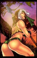 Savage Rogue by Gwendlg