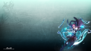 LoL - Infiltrator Irelia Wallpaper  ~xRazerxD by xRazerxD
