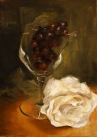 Still Life with Rose by AlisonS11605